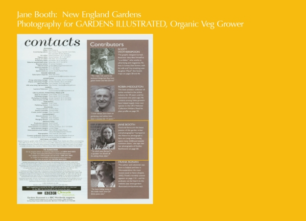 Here is my smiling face in my favorite gardening magazine of all time, Gardens Illustrated.